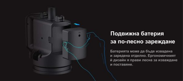 Подвижна батерия за по-лесно зареждане