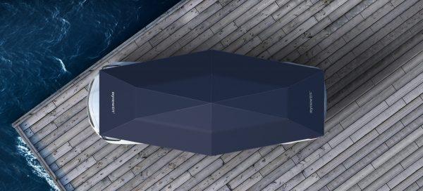Автоматична тента за кола MYNEW 4.8 метра - 2