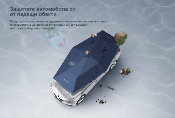 Защитете автомобила си от падащи обекти