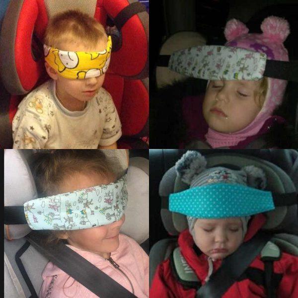 Лента за глава за столче за кола за бебе 2
