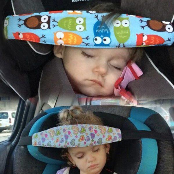Лента за глава за столче за кола за бебе 3